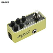 MOOER MICRO PREAMP Series 006 Classic Deluxe American Blues Combo Digital Preamp Preamplifier Guitar Effect Pedal True Bypass