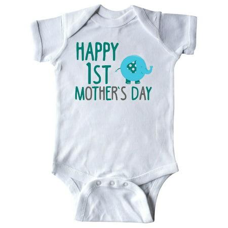 273a76450 Happy 1st Mother's Day Boy Infant Creeper - Walmart.com