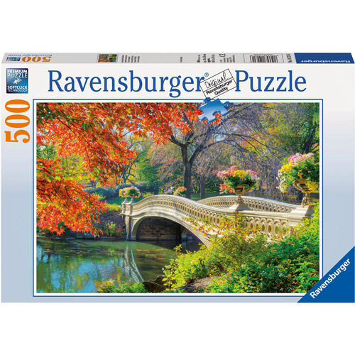 Ravensburger Romantic Bridge Puzzle, 500 Pieces