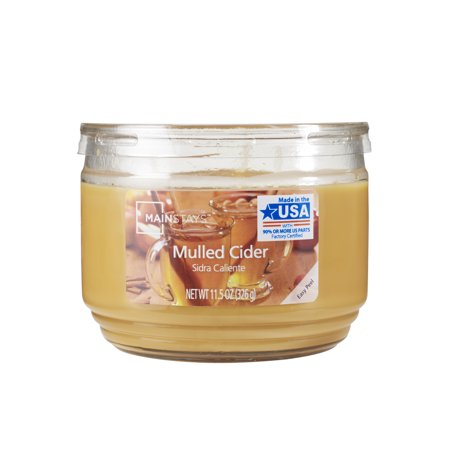 Mainstays Mulled Cider 3-Wick 11.5 oz. Scented Candle