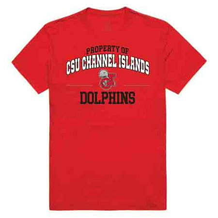 Cal State University Channel Islands Property of Tee T-Shirt Red Medium