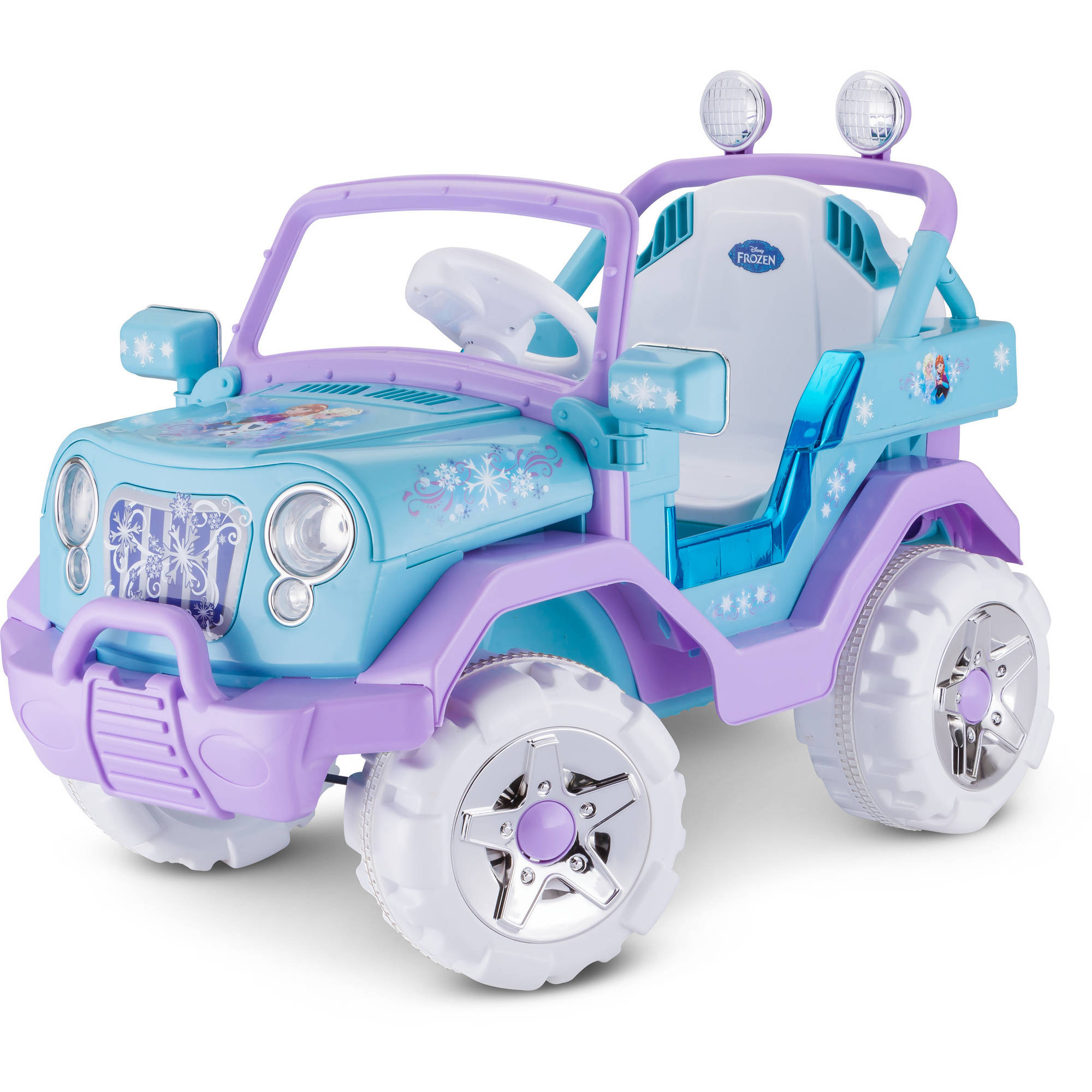 6V Disney Frozen 4x4, Blue/Purple