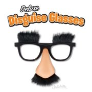 Fuzzy Nose and Glasses Deluxe Disguise Accoutrements Light Skin Tone
