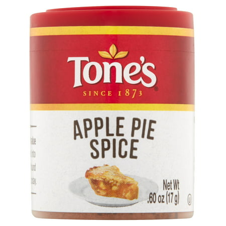 (4 Pack) Tone's Apple Pie Spice, .60 oz