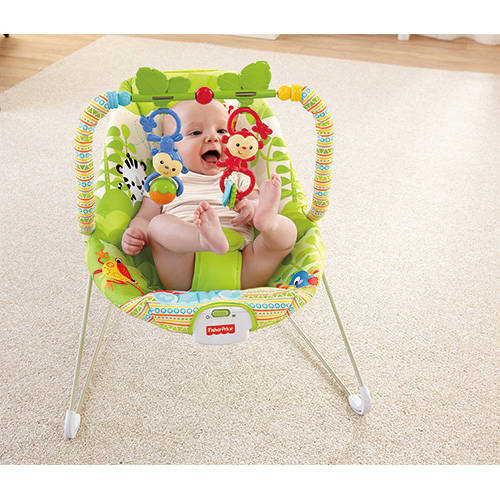 Fisher Price Rainforest Friends Bouncer by Fisher-Price
