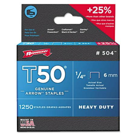 Arrow T50 Heavy Duty Staples  3 8
