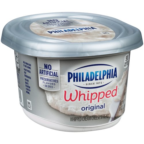 Philadelphia Original Whipped Cream Cheese Spread, 8 oz