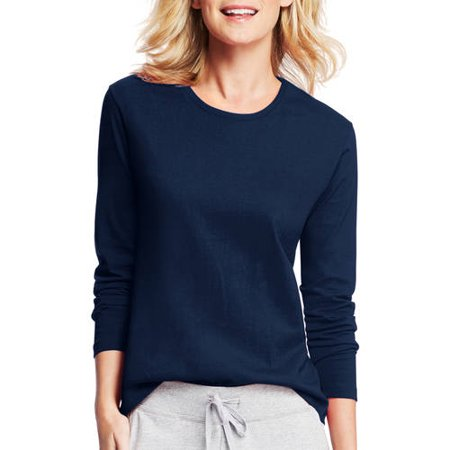 Hanes Women's Long-Sleeve Crewneck - Lna Crewneck