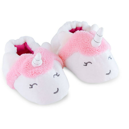 f4eec02049f0 Child of Mine by Carter s - Newborn Baby Girl Unicorn Slippers