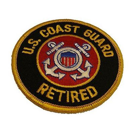 USCG COAST GUARD RETIRED PATCH COASTIE SEMPER PARATUS MARITIME SECURITY - Coast Guard Retired