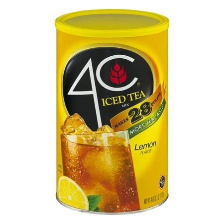 4C Iced Tea Mix Lemon Flavor, 70.3 OZ