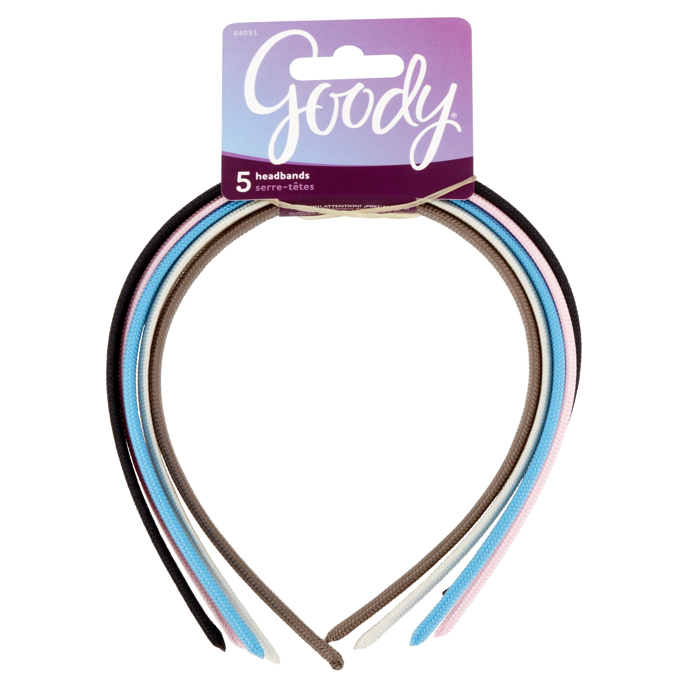 Goody Headbands, 5 count