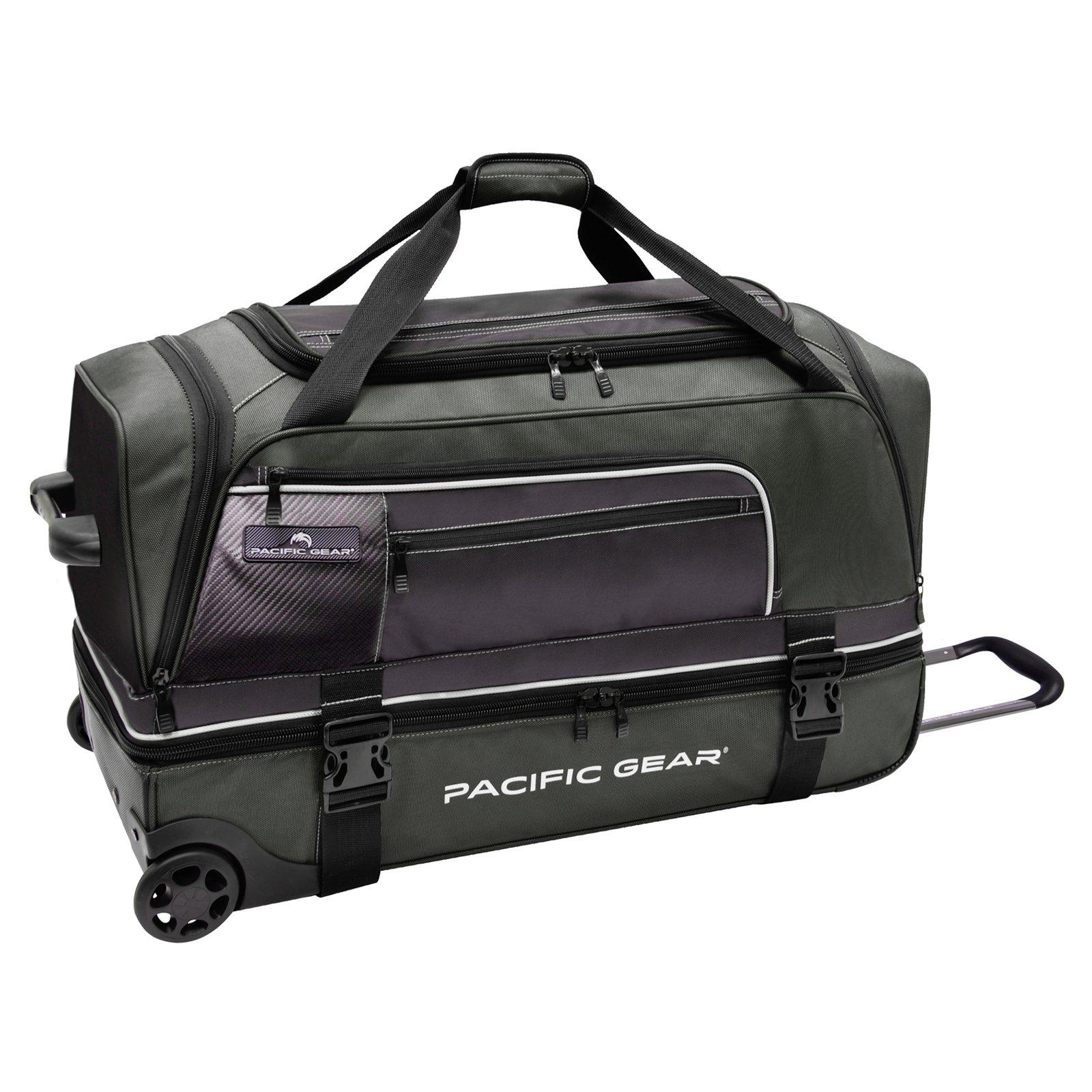 Pacific Gear 30'' Drop-Bottom Rolling Duffel Bag