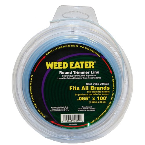 "Weed Eater .065"" x 100' Replacement String Trimmer Line"