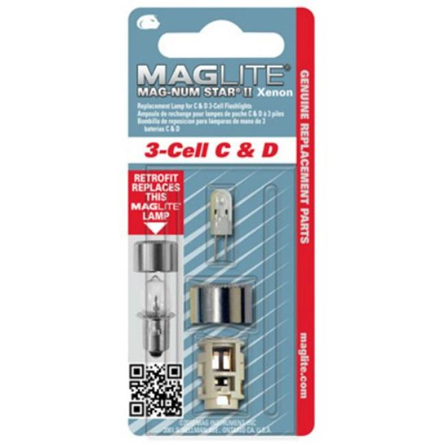 Mag Instrument  MAG-LMXA301 Replacement Xenon Bulb - 3 Cell