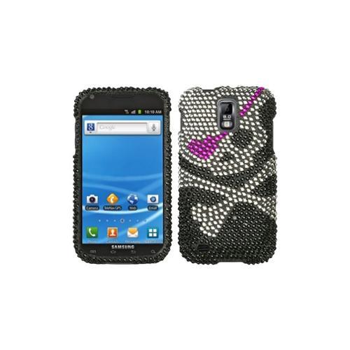 Insten Skull Diamante Case for SAMSUNG: T989 (Galaxy S II)
