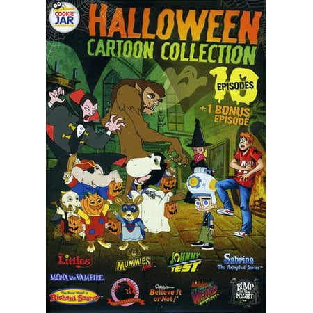 Cookie Jar: Halloween Cartoon Collection (DVD)