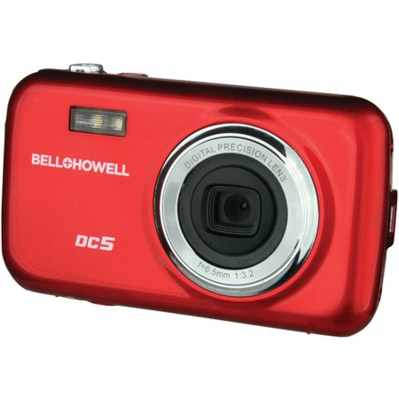 Get Bell+Howell Red DC5 Fun-Flix Kids Digital Camera with 5 Megapixels and 4x Digital Zoom Before Too Late