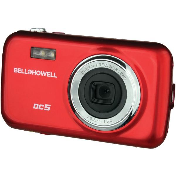 BELL+HOWELL DC5-R 5.0-Megapixel Fun Flix(R) Kids Digital Camera (Red)