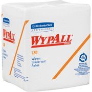 Wypall L30 Light Duty Wipers, White, 1 / Pack (Quantity)