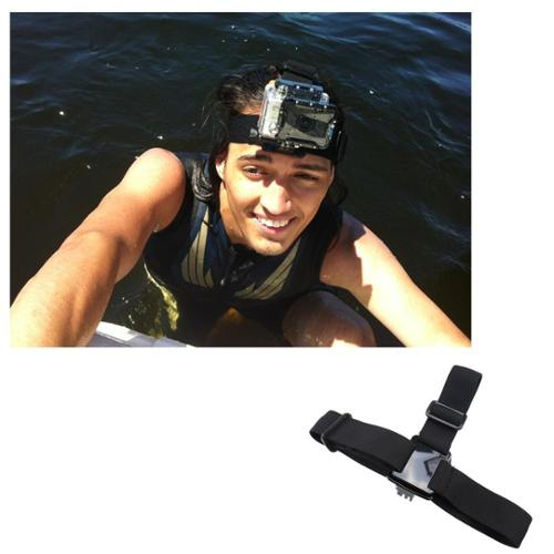 AGPtek Brand New Elastic Camera Head Strap Mount Adapter for GOPRO HERO 2 HERO 3 Adjustable Strap
