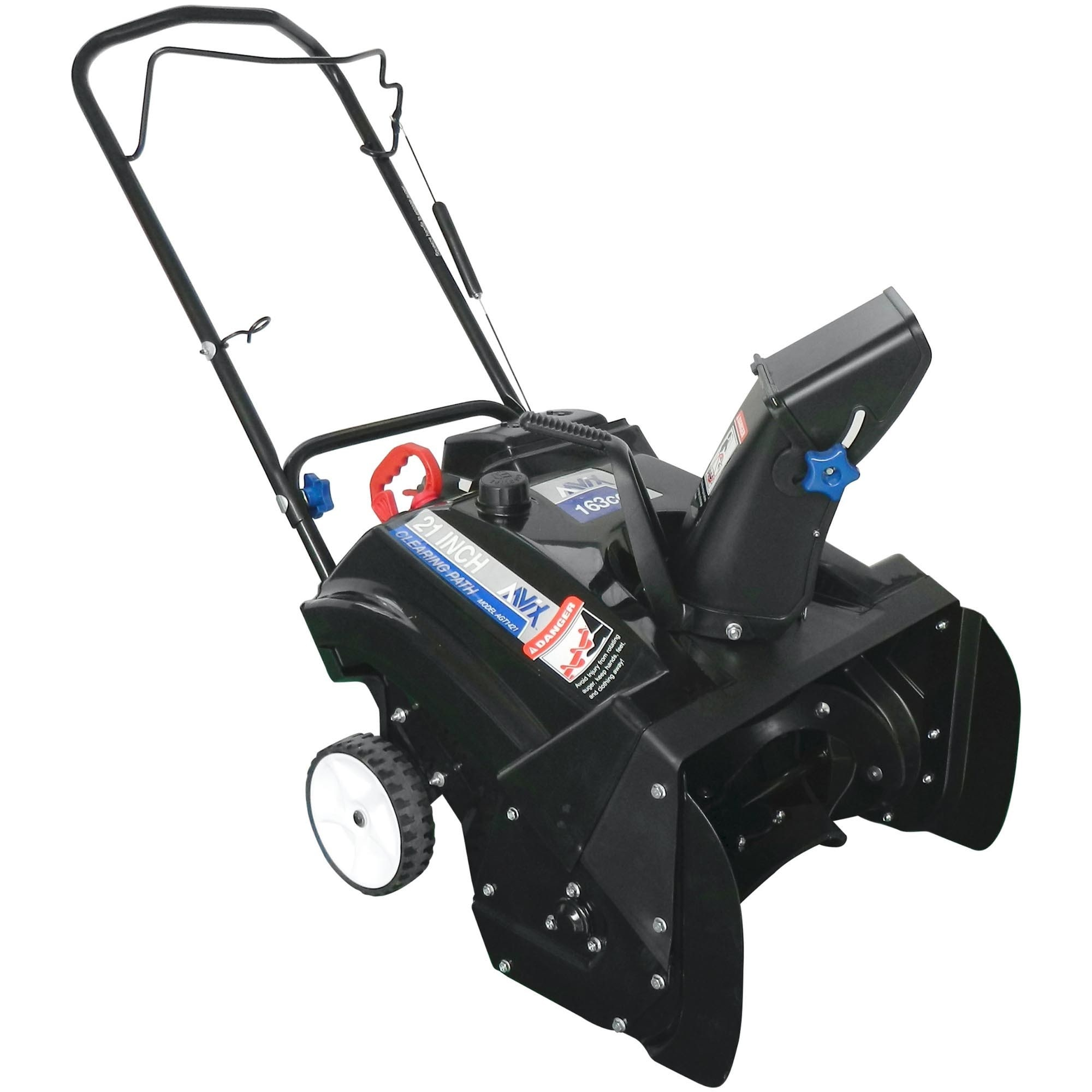 AAVIX AGT1421 21-inch Single Stage Snow Blower with Electric start
