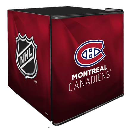 NHL Solid Door Refrigerated Beverage Center 1.8 cu ft- Montreal Canadiens by