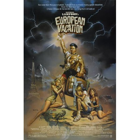 National Lampoons European Vacation  1985  Movie Poster 24X36 Inches
