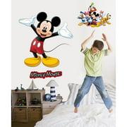 Wallhogs Disney Mickey and Friends Mickey Mouse Cutout Wall Decal