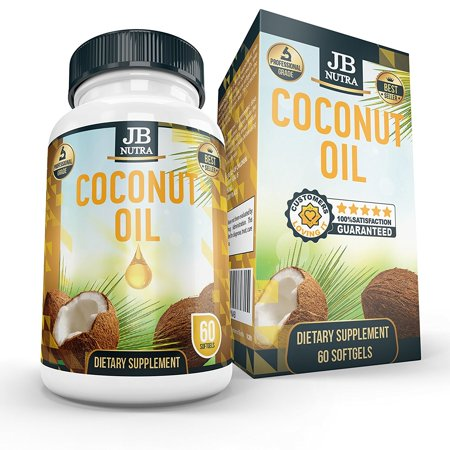 Unrefined Coconut Oil   Extra Virgin   Gel Capsules   Supplement   Cold Press   Vegan   Organic   Non Gmo Raw And Pure   2000Mg Per Serving   Veggie Capsules Made In Usa By Jb Nutra