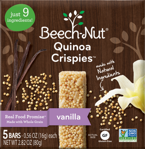 Beech-Nut Stage 3 Quinoa Crispies (Pack of 2)