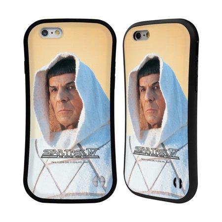 Official Star Trek Spock The Voyage Home Tos Hybrid Case For Apple Iphones Phones