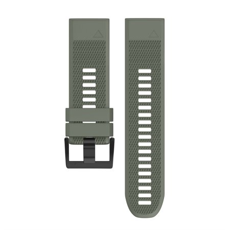 Quick Fit Antimicrobial (Replacement Silicone Quick Release Easy Fit Wirstband For Garmin Fenix 5X Plus )
