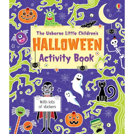 LITTLE CHILDRENS HALLOWEEN ACTIVITY BOOK - Halloween Printable Art Activities