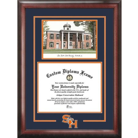 sam houston state bearkats 11 x 14 spirit graduate diploma frame. Black Bedroom Furniture Sets. Home Design Ideas