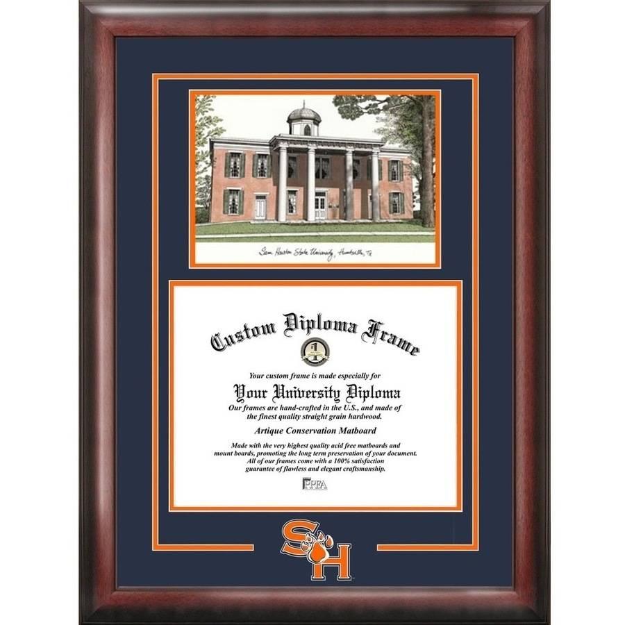 "Sam Houston State Bearkats 11"" x 14"" Spirit Graduate Diploma Frame"