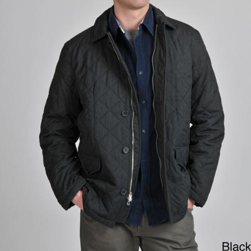 EXcelled Tasso Elba Men's Quilted Car Coat