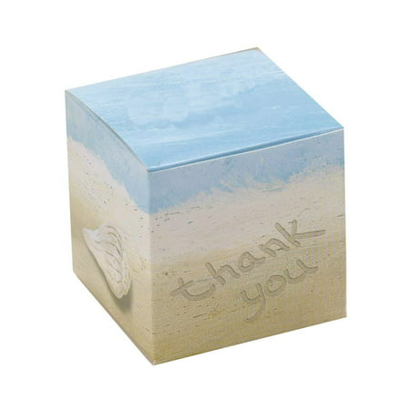 Hortense B. Hewitt Wedding Accessories Seaside Jewels Favor Boxes, Pack of 25, Package of 25 beach theme Favor Boxes By Hortense B Hewitt - Beach Themed Parties For Adults