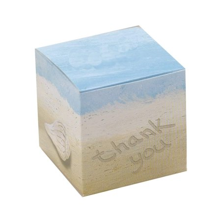 Hortense B. Hewitt Wedding Accessories Seaside Jewels Favor Boxes, Pack of 25, Package of 25 beach theme Favor Boxes By Hortense B Hewitt - Beach Theme Decorations