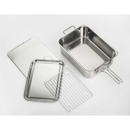 CookPro Stainless Steel Stovetop Smoker