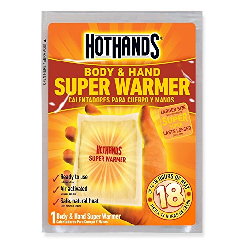HotHands Body & Hand Super Warmers (80 Pack With Carrying Pouch) by HotHands
