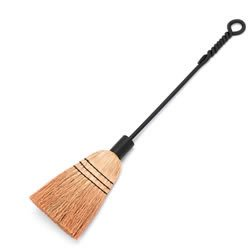 Minuteman Wrought Iron Broom, Twisted Rope Design ()