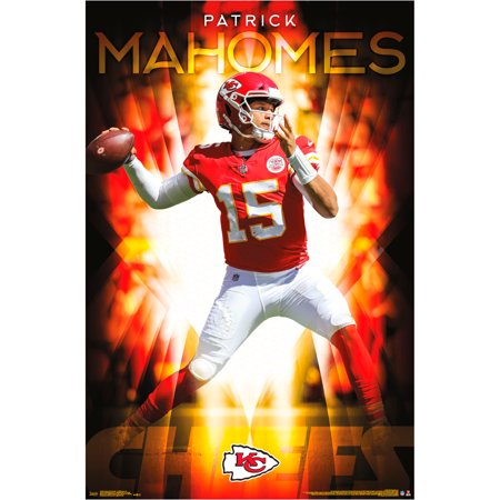 Patrick Mahomes Kansas City Chiefs 22.4'' x 34'' NFL Association Players Poster - No Size (Sporting Kansas City Poster)