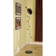 K and B Furniture Co Inc Stainless Steel Contemporary Coat Rack