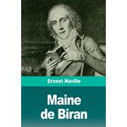 Maine de Biran (Paperback)