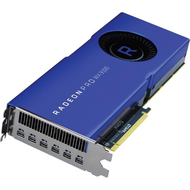 AMD RADEON PRO WX 9100 RETAIL PCIE 6XMDP 16GB HBM2