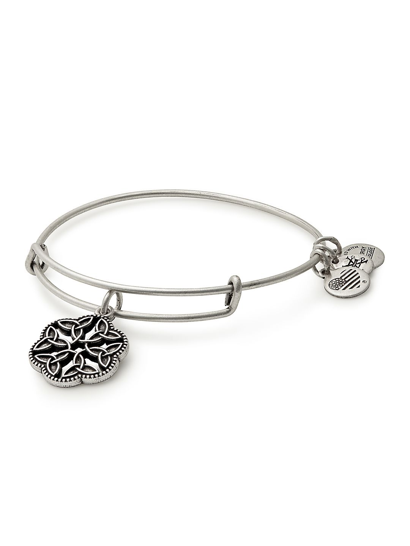 Path of Symbols Endless Knot Bangle Bracelet