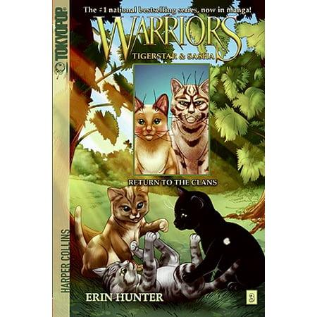 Warriors: Tigerstar and Sasha #3: Return to the Clans ()
