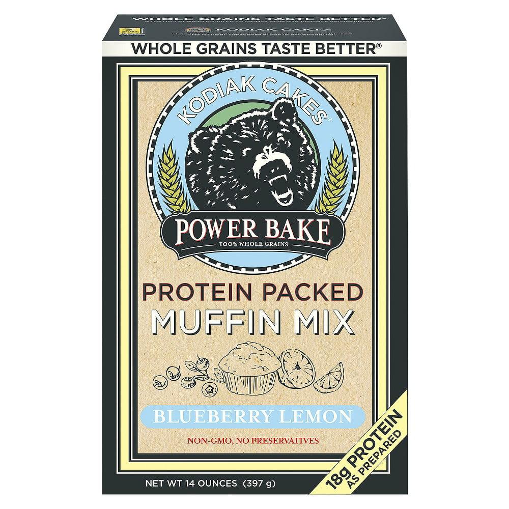 Power Bake Blueberry Lemon Muffin (Pack of 4)