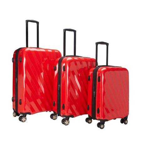 McBrine Luggage A747 Elite 3 Piece Expandable Luggage Set